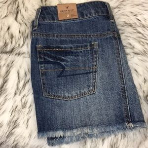 AEO Denim Mini Skirt Sz 2